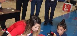 """Sporcular yeteneklerinin küçükken farkında olacak İl Milli Eğitim Müdürü Osman Elmalı: """"Artık Türkiye'de bilinçli olarak sporcuların seçiminin sağlandığı bir durumu görüyoruz"""" Gençlik Hizmetleri ve Spor İl Müdürü Murat Eskici: """"Bizler yeteneği keşfedip bir üste çıkarmanın gayretinde olacağız"""""""