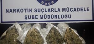 Bingöl'de 59 kilo toz esrar ele geçirildi