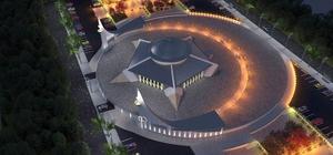 Türkiye'nin ilk 'Ayyıldızlı Camisi' kendini göstermeye başladı