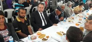 Samanlıoğlu ilk iftarını vatandaşlarla birlikte açtı
