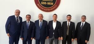 GAİB halı ihracatçılar birliğinden GSO-MEM'e ziyaret