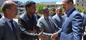 """İçişleri Bakanı Süleyman Soylu: """"Cezaevinde bir cumhurbaşkanı adayını ziyaret edip onun çıkmasını ve propaganda yapmasını isteyen zihniyeti kınıyorum"""""""