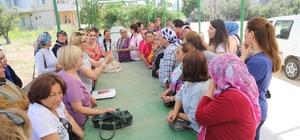 Tece'de kadın üretici pazarı açılıyor Pazarda tezgah açacak kadınların kura çekimi yapıldı