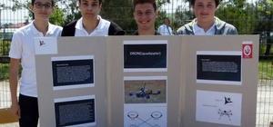 300 liraya yaptılar, 30 dakika havada kalan 'drone' Lise öğrencileri iki saatte drone yapıp havaya kaldırdılar