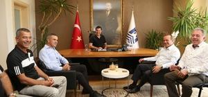 KKTC Turizm Bakanı Ataoğlu Bodrum'da