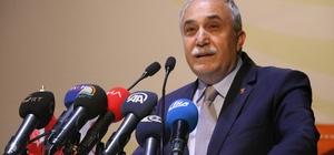 Bakan Fakıbaba hibe alan şirketlere temsili çek takdim etti
