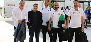 Sivasspor kafilesi, İstanbul'a gitti