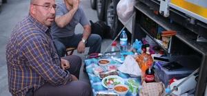 Kapıkule'de iftar, Sırbistan'da sahur