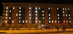 Ağrı'da KYK yurtları 'Kudüs' ile aydınlandı