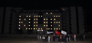 Kars KYK ışıklarını Kudüs için yaktı