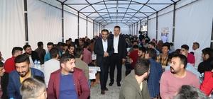 Çayeli Belediye Başkanı Esmen, vatandaşlarla iftarda buluştu