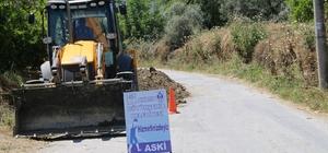 Büyükşehir üst yapı çalışmalarına Kuyucak'ta devam ediyor