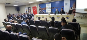 """Tatvan'da """"KOBİGEL-KOBİ Gelişim Destek Programı"""" toplantısı düzenlendi"""
