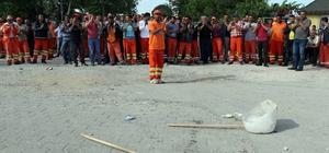 Süpürge attılar, kontak kapattılar CHP'li belediye işçilerinin maaş alamadığı iddiası