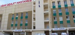 Uşak'ta işçi servisi devrildi: 18 yaralı