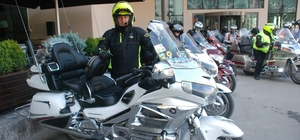 Motosiklet tutkunları Tokat'ta