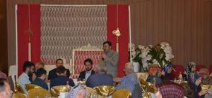Gediz belediye personeli iftar yemeğinde buluştu