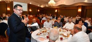 AK Parti'nin Trabzon'daki kurucuları iftar yemeğinde buluştu
