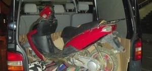 Sakarya polisinden çalıntı motosiklet operasyonu