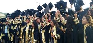 Anamur MYO'da mezuniyet heyecanı