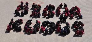 Öğrencilerden İsrail'e tepki Filistin ve Kudüs'e destek İmam Hatipli öğrencilerden 'Kudüs' koreografisi