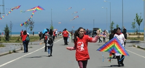 Trabzon'da uçurtma şenliği