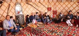 Gaziantep Etnospor 3'üncü Kültür festivalinde Büyükşehir belediyesi etnospor festivalinde Gaziantep'i tanıttı