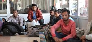 Yakalanan göçmenler gözyaşlarına boğuldu Avrupa ülkelerine gitmek için ülkelerinden kaçıp Adana'ya gelen 17 göçmen, yakalanınca gözyaşı döktü