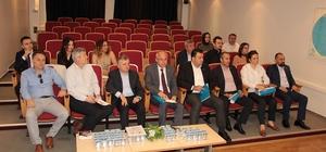 Genel sekreterleri DTSO'da bir araya geldi