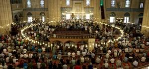 Selimiye Camisi'nde ramazanın ilk cuma namazı kılındı