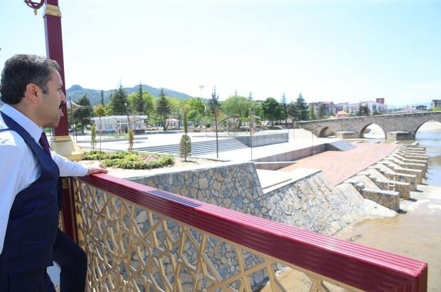 """Başkan Eroğlu,""""Geleceğin Tokat'ını inşa ediyoruz"""" Tokat Belediye Başkanı Av. Eyüp Eroğlu: """"Gelişen ve değişen bir Tokat için belediye olarak günün ihtiyaçlarını karşılarken bir yandan da geleceğin Tokat'ını inşa ediyoruz"""""""