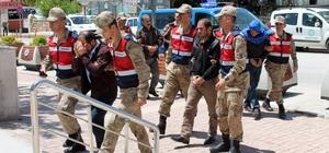 Elazığ'da uyuşturucu operasyonu: 5 şüpheli tutuklandı, 4 şüpheli adliyeye sevk edildi