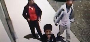 Çocuk hırsızlar önce kameraya sonra da polise yakalandı Boyundan büyük işlere kalkışan çocuklar polise yakalandı