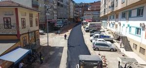 """Fatsa'da asfalt çalışmaları Fatsa Belediye Başkanı Muharrem Aktepe: """"Bu yaz sonuna kadar birçok noktada yol çalışmalarımız olacak"""""""