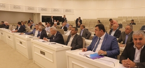 Gaziantep Büyükşehir Belediye Meclisi toplandı