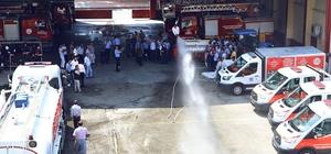 Mersin'de gönüllü itfaiyecilik eğitimleri devam ediyor