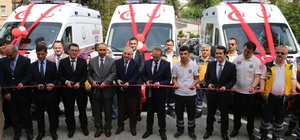 Ordu'ya 3 ambulans Ambulans sayısı 59'a, istasyon sayısı 39'a çıktı