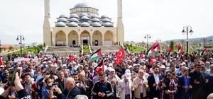 Kastamonu'da 78 STK temsilcisi, 4 dilde yayınladığı mesajda İsrail ve ABD'yi protesto etti Tosya'da gıyabi cenaze namazı kılındı