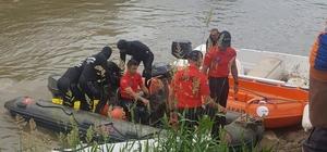 Balık tutmak için nehre düşüp kaybolan son kişide bulundu