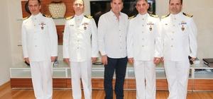 TCG Komutanlarından Başkan Kocadon'a 19 Mayıs ziyareti