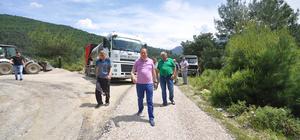 Geyve'de yeniden asfalt seferberliği başladı