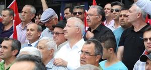Torbalı'dan İsrail zulmüne lanet