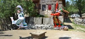 """""""Dünya gençleri"""" Antalya'da buluştu"""