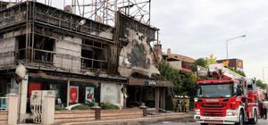 İzmir'de iş yeri yangını