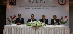 Meslek Örgütlerinin Soyal Yaşamdaki Önemi ve Demokrasilerde Örgütlülük Paneli