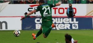 Spor Toto Süper Lig: T.M. Akhisarspor: 1 - Osmanlıspor: 1 (İlk yarı)