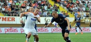 Spor Toto Süper Lig: Aytemiz Alanyaspor: 1 - Antalyaspor: 1 (İlk yarı)