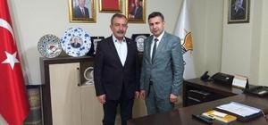 Dünya Kırşehirliler Derneğinden AK Parti teşkilatına ziyaret