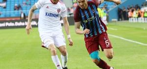 Spor Toto Süper Lig: Trabzonspor: 0 - Kardemir Karabükspor: 0 (İlk yarı)