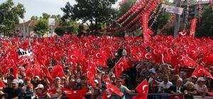 CHP'nin cumhurbaşkanı adayı İnce Tekirdağ'da